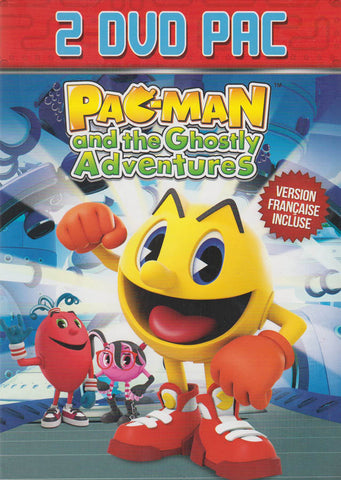 Pac-Man and the Ghostly Adventures (All You Can Eat / Pac Is Back) (Boxset) DVD Movie