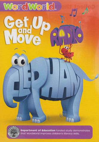 Word World: Get Up & Move DVD Movie