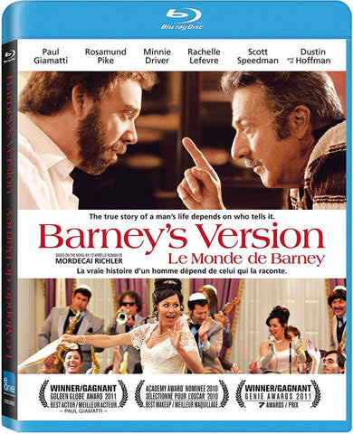 Barney s Version (Blu-ray) (Bilingual) BLU-RAY Movie