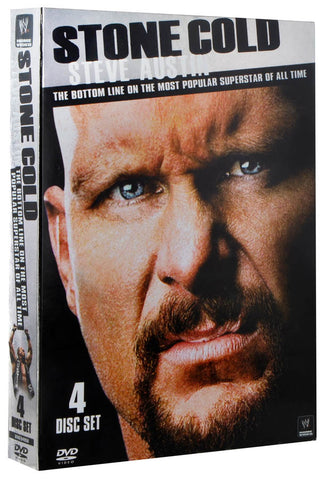 Stone Cold Steve Austin: The Bottom Line On The Most Popular Superstar Of All Time (WWE) (Boxset) DVD Movie