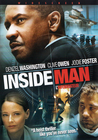 Inside Man (Widescreen Edition) (Bilingual) DVD Movie