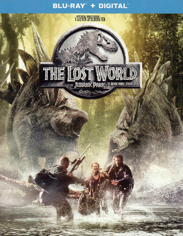 The Lost World : Jurassic Park (Blu-ray + Digital) (Blu-ray) (Bilingual) BLU-RAY Movie