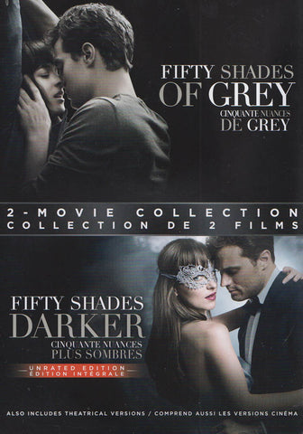 Fifty Shades of Grey / Fifty Shades Darker (2-Movie Collection) (Bilingual) DVD Movie