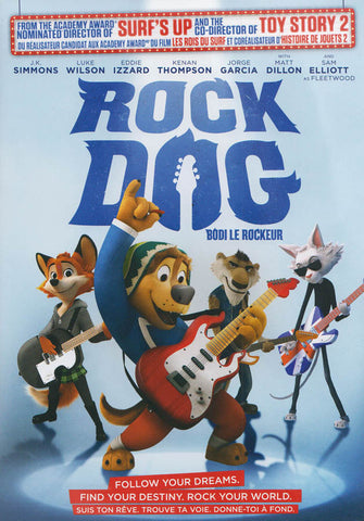 Rock Dog (Bilingual) DVD Movie