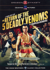 The Return Of The 5 Deadly Venoms (Dragon Dynasty)