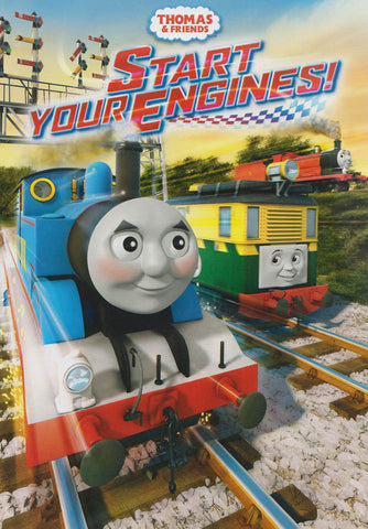 Thomas & Friends: Start Your Engines! DVD Movie