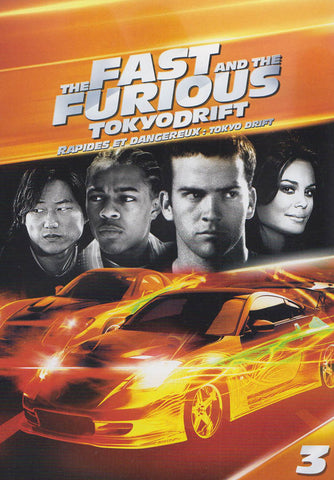 The Fast and The Furious : Tokyo Drift (Bilingual) DVD Movie