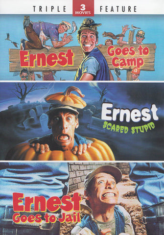 Ernest Goes to Camp / Ernest Scared Stupid / Ernest Goes to Jail (Triple Feature) DVD Movie