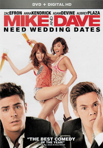 Mike and Dave Need Wedding Dates (DVD + Digital HD) DVD Movie