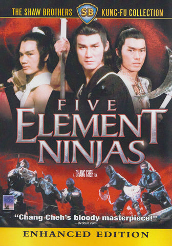 Five Element Ninjas (Enhanced Edition) DVD Movie