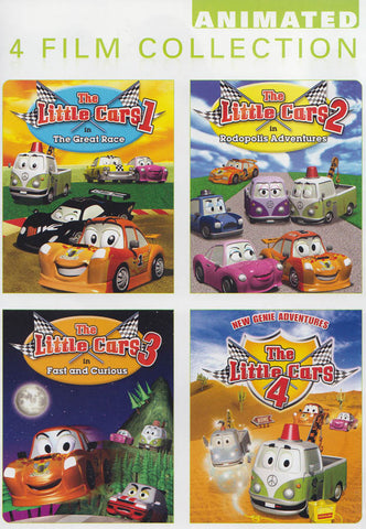 The Little Cars 4 Pack: Little Cars 1, Little Cars 2, Little Cars 3, Little Cars 4 DVD Movie