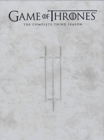 Game of Thrones : The Complete Season 3 (Boxset) DVD Movie