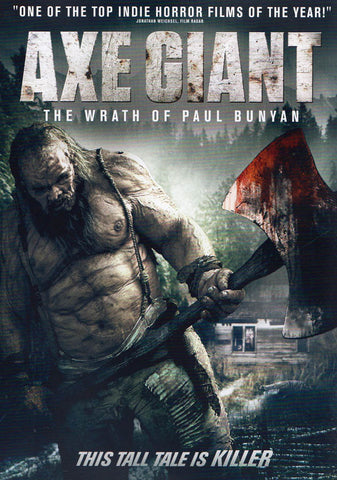 Axe Giant: Wrath of Paul Bunyan DVD Movie