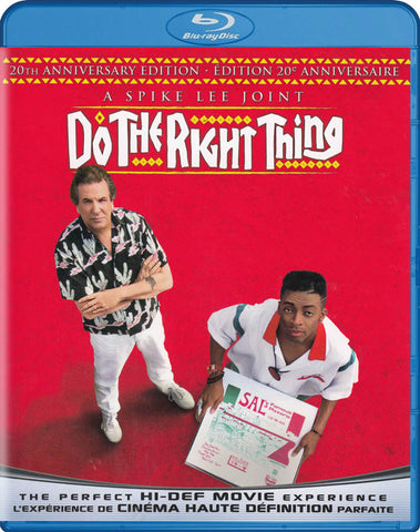Do the Right Thing (20th Anniversary Edition) (Blu-ray) (Bilingual) BLU-RAY Movie
