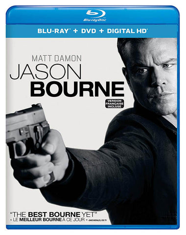 Jason Bourne (Matt Damon) (Blu-ray + DVD + Digital HD) (Blu-ray) (Bilingual) BLU-RAY Movie