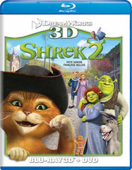 Shrek 2 (Blu-ray 3D + DVD) (Blu-ray) (Bilingual)