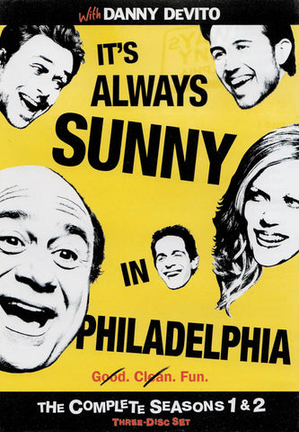 It s Always Sunny in Philadelphia: Season 1 & 2 DVD Movie