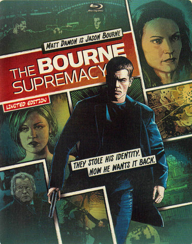 The Bourne Supremacy (Steelbook) (Blu-ray + DVD) (Blu-ray) BLU-RAY Movie