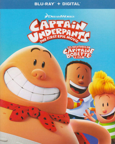Captain Underpants: The First Epic Movie (Bilingual) (Blu-ray) BLU-RAY Movie