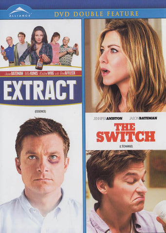 Extract / The Switch (Double Feature) (Bilingual) DVD Movie