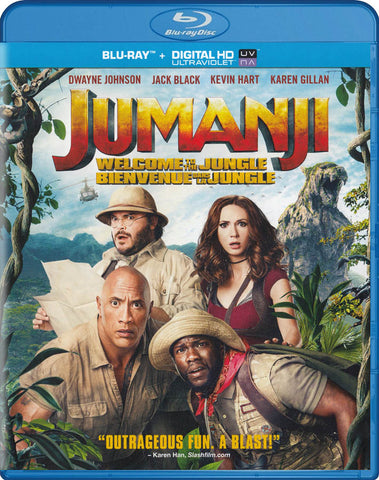 Jumanji: Welcome to the Jungle (Bilingual) (Blu-ray + Digital HD) (Blu-ray) BLU-RAY Movie