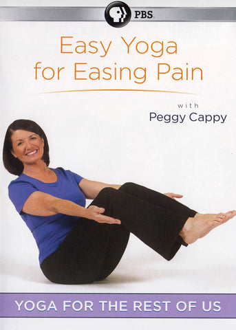 Yoga For The Rest Of Us - Easy Yoga For Easing Pain With Peggy Cappy DVD Movie