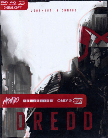 Dredd (Steelbook ) (Blu-ray 3D + Blu-ray + DVD) (Blu-ray) (Bilingual) BLU-RAY Movie