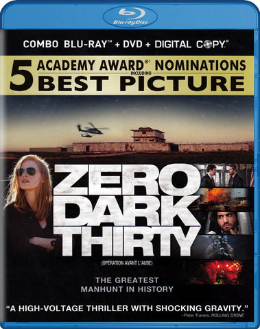 Zero Dark Thirty (Blu-ray + DVD + Digital Copy) (Blu-ray) (Bilingual) BLU-RAY Movie