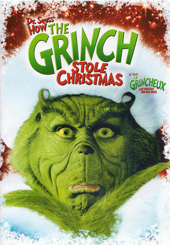 Dr. Seuss - How the Grinch Stole Christmas (Bilingual) DVD Movie