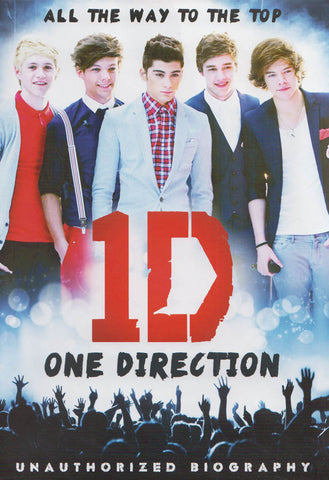 One Direction: All The Way To The Top DVD Movie