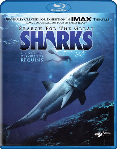 Search For The Great Sharks (Blu-ray) (Bilingual) BLU-RAY Movie
