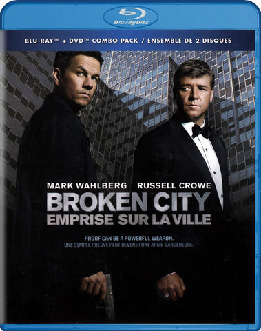 Broken City (Blu-ray + DVD) (Blu-ray) (Bilingual) BLU-RAY Movie