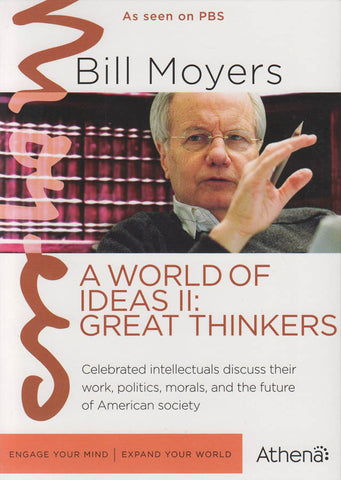 Bill Moyers - A World Of Ideas II : Great Thinkers (Boxset) DVD Movie