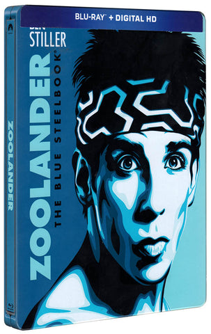 Zoolander (The Blue Steelbook) (Blu-ray + Digital HD) (Blu-ray) BLU-RAY Movie