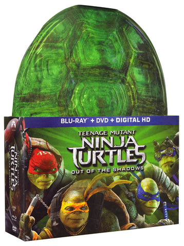 Teenage Mutant Ninja Turtles: Out Of The Shadows (Blu-ray + DVD + Masks) (Blu-ray) (Boxset) BLU-RAY Movie
