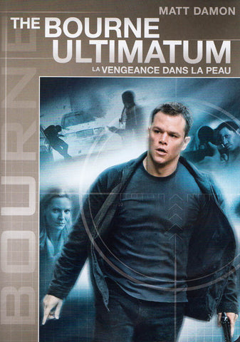 The Bourne Ultimatum (Gray Cover) (Widescreen Edition) (Bilingual) DVD Movie