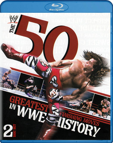 WWE: The 50 Greatest Finishing Moves in WWE History (Blu-ray) BLU-RAY Movie