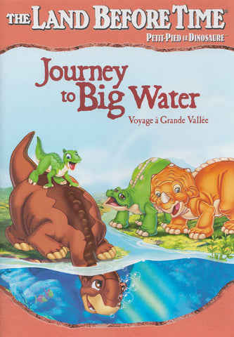 The Land Before Time - Journey to Big Water (Coral Colour Spine) (Bilingual) DVD Movie