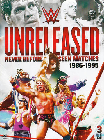 Unreleased - Never Before Seen Matches (1986-1995) (WWE) (Boxset) DVD Movie