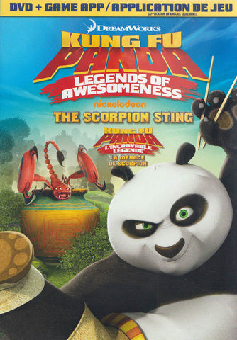 Kung Fu Panda: Legends of Awesomeness - The Scorpion Sting (DVD + Game) (Bilingual) DVD Movie