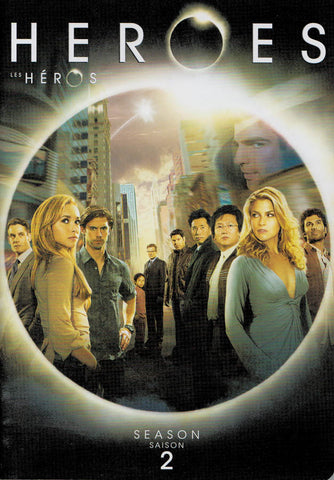 Heroes - Season 2 (Keepcase) (Bilingual) DVD Movie