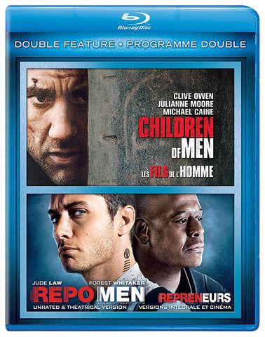 Children of Men / Repo Men (Double Feature) (Blu-ray) (Bilingual) BLU-RAY Movie