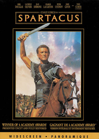 Spartacus (Widescreen) (Bilingual) DVD Movie