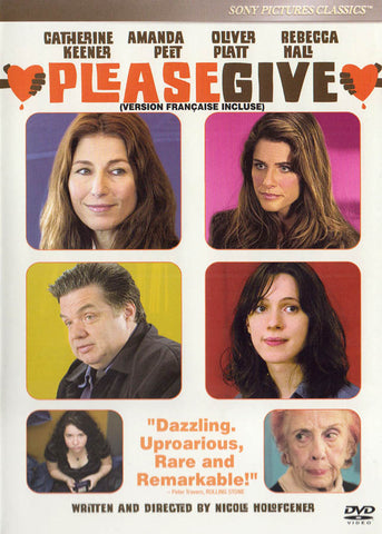 Please Give (Bilingual) DVD Movie