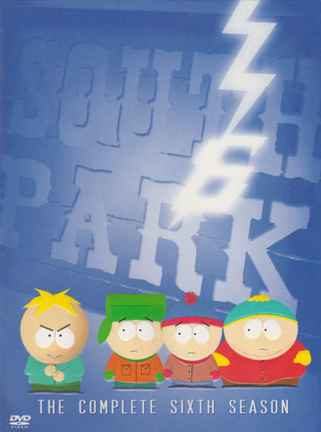South Park - The Complete (6th) Sixth Season (Boxset) DVD Movie
