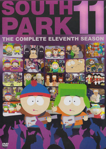 South Park - The Complete Eleventh Season DVD Movie