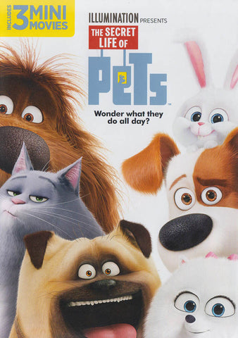 The Secret Life of Pets DVD Movie