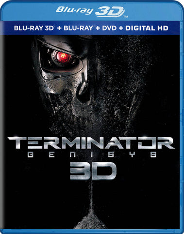 Terminator Genisys 3D (Blu-ray 3D + Blu-ray + DVD + Digital HD) (Blu-ray) BLU-RAY Movie