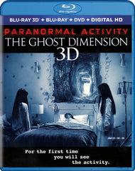 Paranormal Activity - The Ghost Dimension (Blu-ray 3D + Blu-ray + DVD) (Blu-ray)