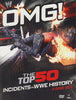 OMG - The Top 50 Incidents in WWE History (Boxset) DVD Movie